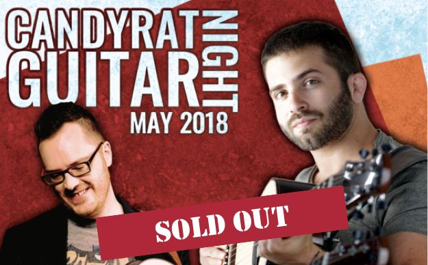 CANDYRAT GUITAR NIGHT FEATURING LUCA STRICAGNOLI & ANTOINE DUFOUR